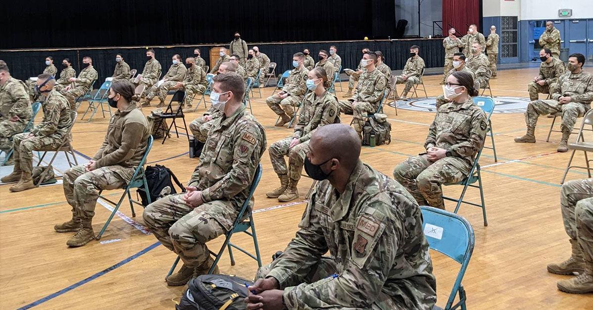 Oregon National Guard joins Salem Health to vaccinate Oregonians