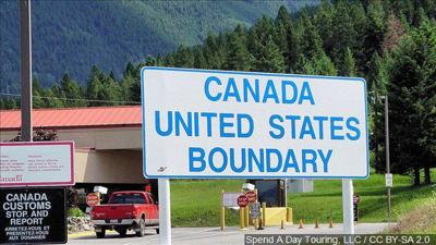 Canada, U.S. border