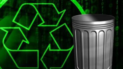 Man gets compacted after sleeping in cardboard recycling bin