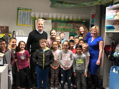 Mrs. Lamprey is this month's Classroom Makeover winner
