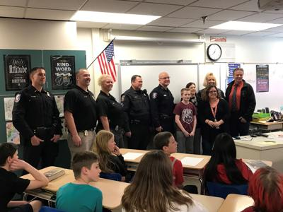 Student awarded School Safety Patrol Hall of Fame