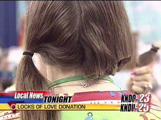 Over 30 Young Women Gather To Donate Hair To Locks Of Love