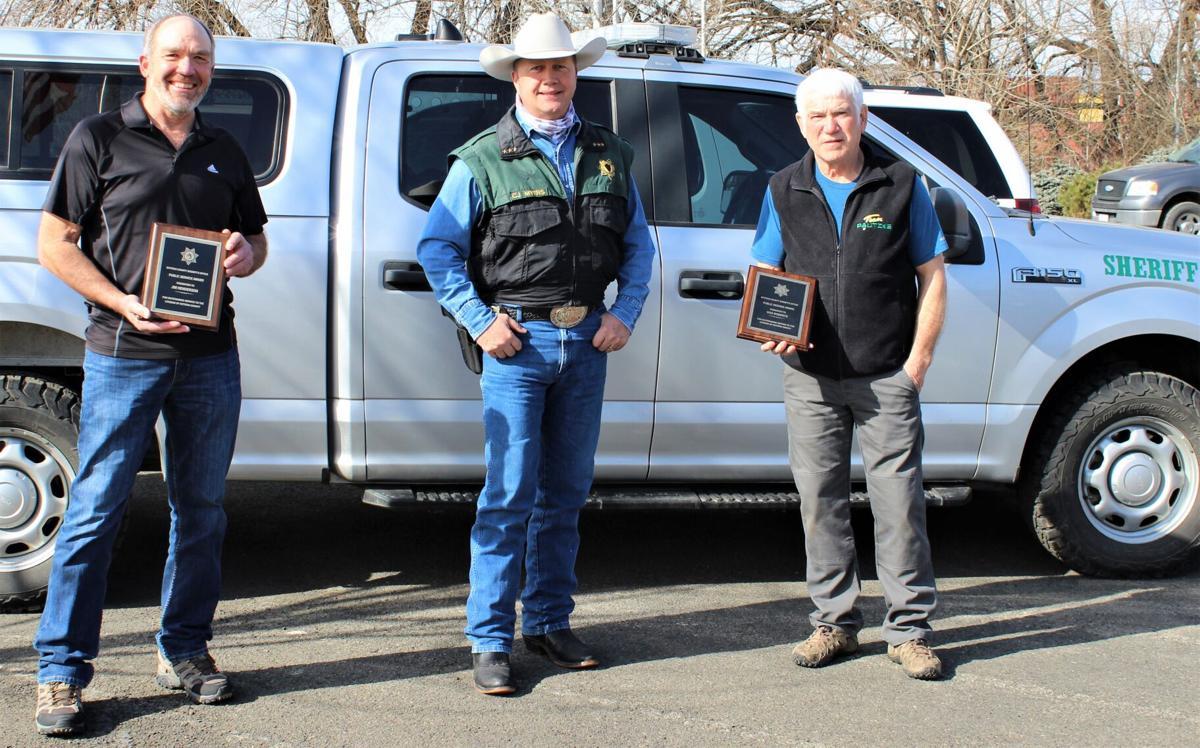 Kittitas County Sheriff presents Citizens Public Service Awards