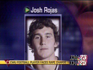 CWU Football Player Faces Rape Charge