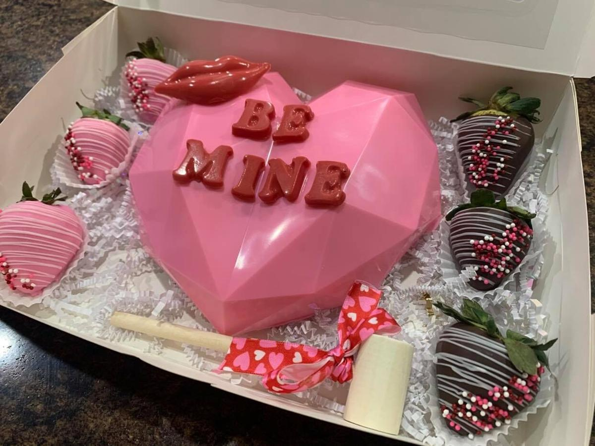 Local woman 'breaks' into business with chocolate hearts