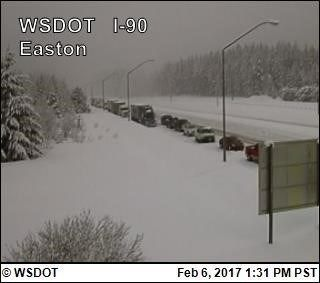How this winter weather has affected I-90 through Snoqualmie Pass