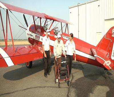 Ageless Aviation takes seniors and vets for flights of their life