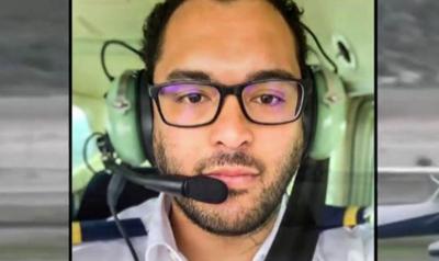 student pilot lands plane