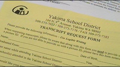 District office backed up with transcript requests