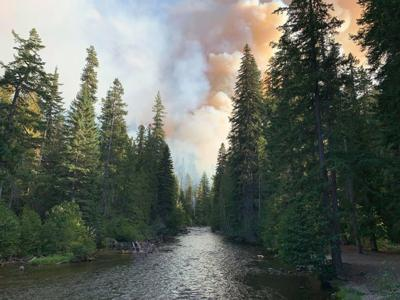 Schneider Springs Fire is Now at 86 Thousand Acres