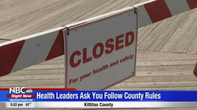 Kittitas Public Health Department asks people not to visit during Memorial Day weekend.