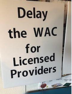 Delay the WAC Sign
