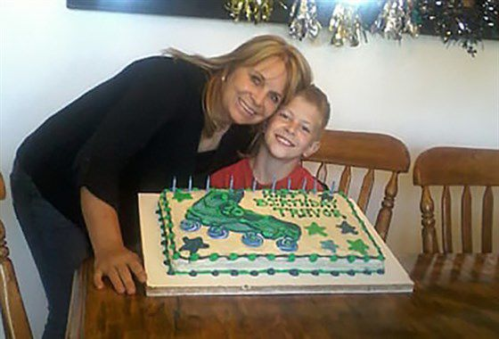 Dawna Langford and her son Trevor