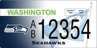 1,800 Seahawks & Sounders License Plates Sold Day One of Sales