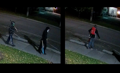 spray painting suspects
