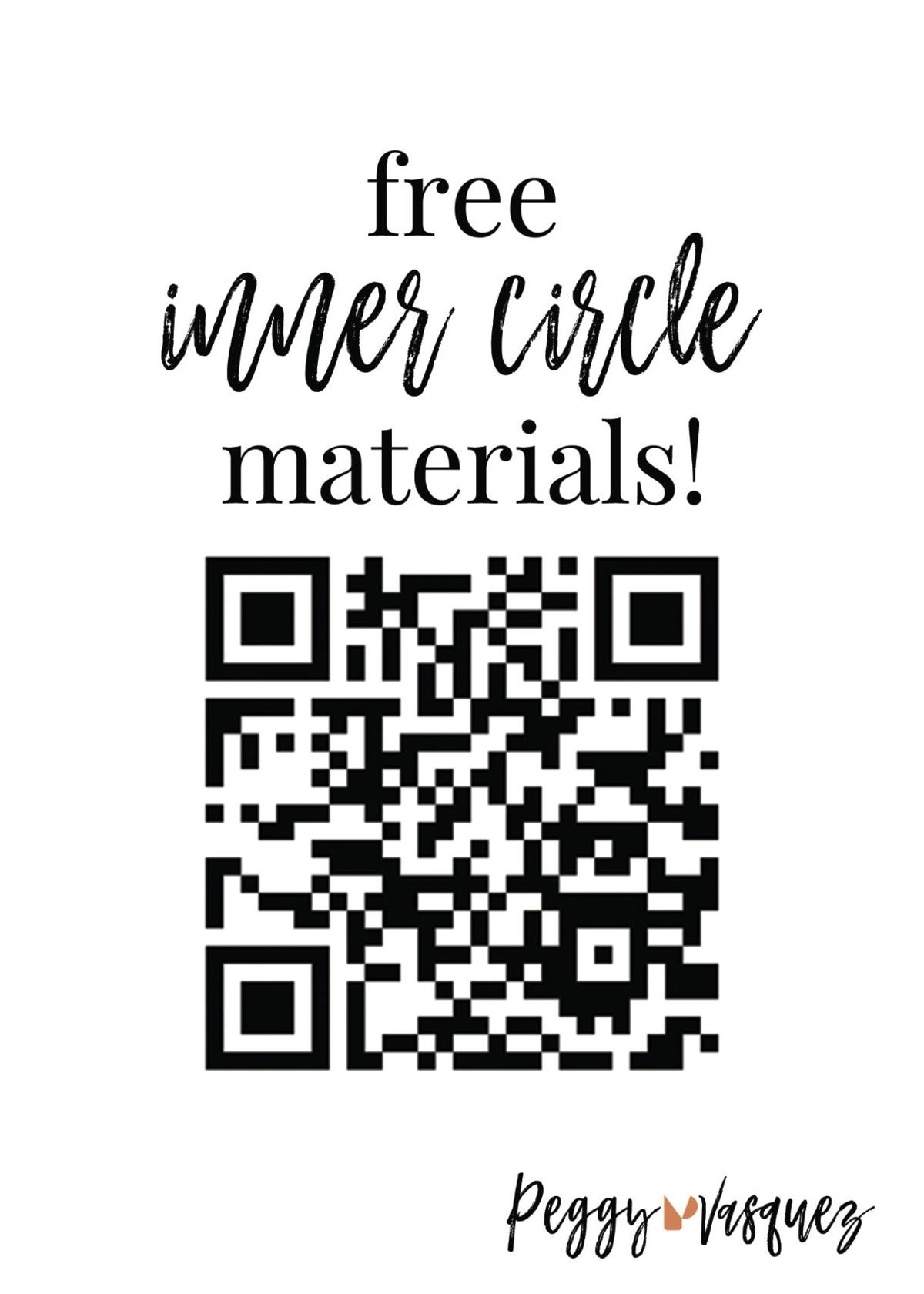 Free inner circle materials