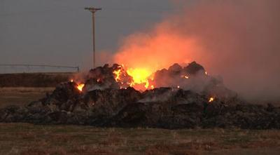 250 tons of hay burn in Pasco fire