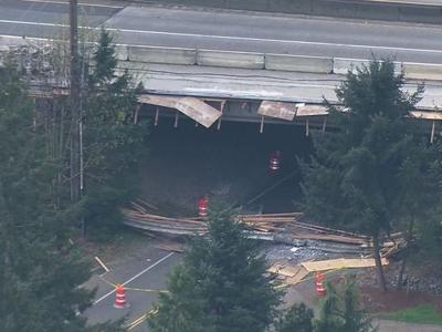 UPDATE: 3 Killed in Overpass Collapse in Bonney Lake