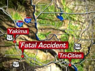 Deadly Two Vehicle Accident 15 Miles South Of Toppenish