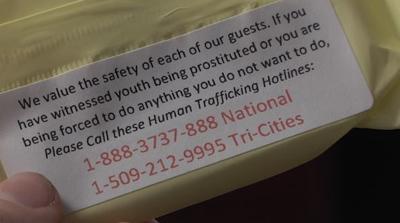 Local organization raises human trafficking awareness ahead of Water Follies