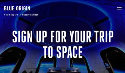 Want to take a ride on Blue Origin's 'New Shepard' spacecraft? Here's how you can reserve a seat