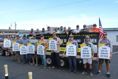 Richland Line Crew Pushes For Fair Wages