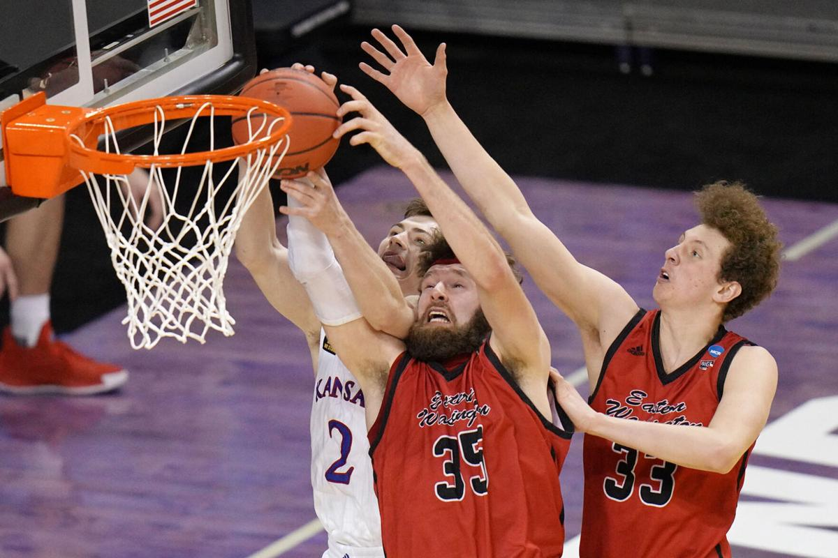 NCAA E Washington Kansas Basketball