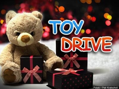 Drive-thru Toy Drive at Terrace Heights Civic Center