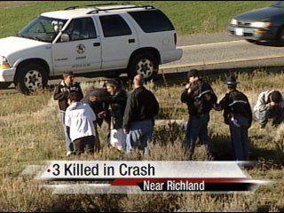 Three killed in Richland car crash involving children