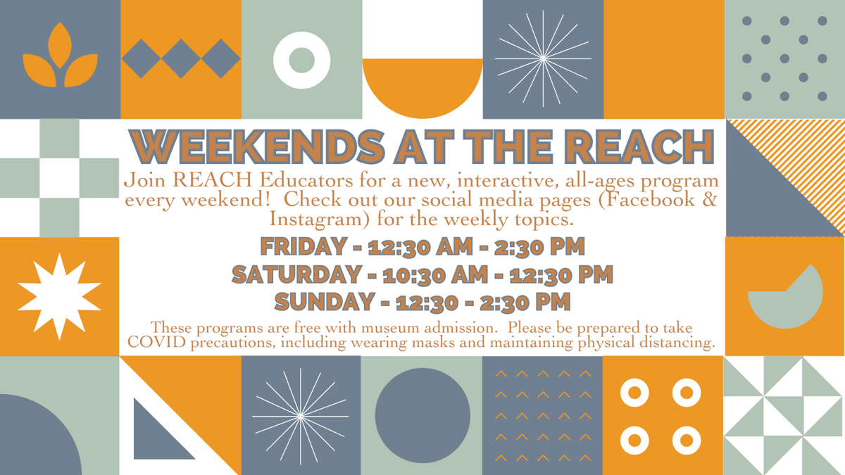 weekends at the reach