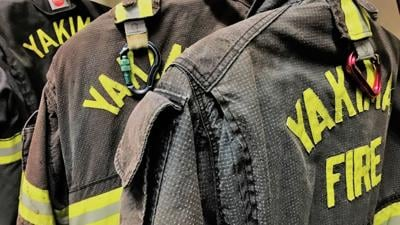 Fire displaces six people in Yakima Tuesday evening, January 12