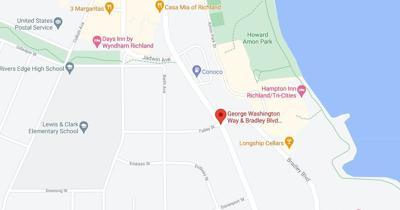 City of Richland is Shutting Off the Light at Bradley Blvd on George Washington Way