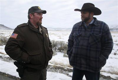 Oregon Sheriff known for standoff resigns over funds and