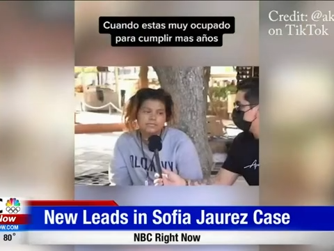 Viral <b>TikTok</b> Video Amongst New Leads for Sofia Juarez Case thumbnail
