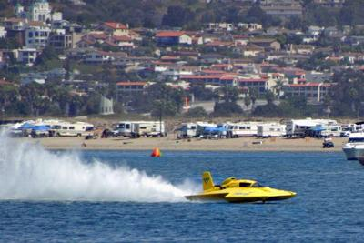 SAN DIEGO 2009: Unlimited Hydroplanes will not race at