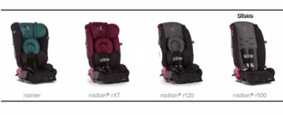 Car seats being recalled