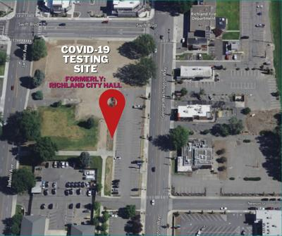 Richland COVID-19 testing site is moving locations