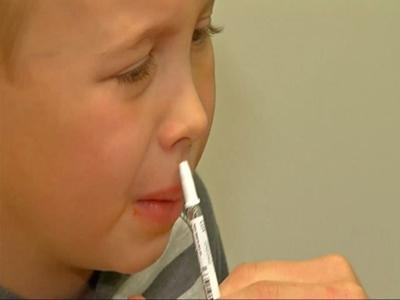 CDC says nasal spray is back for this year's flu season
