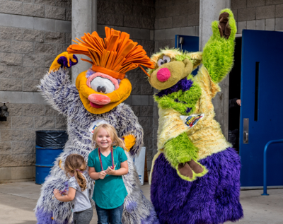 2019 Central Washington State Fair Mascots