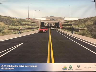 interchange project US 395