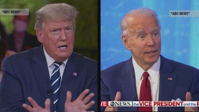 In head-to-head town halls, Biden beats Trump in audience