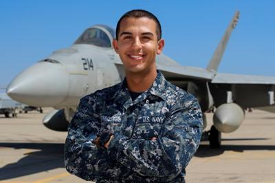 Yakima Native serves with Navy Strike Fighter Squadron