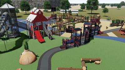 Funland Playground in Hermiston's Butte Park receives a $250,000 Federal Grant to rebuild after fire