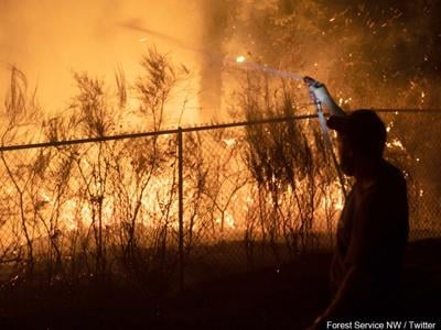 Oregon Authorities confirm 10 fatalities from recent wildfires.