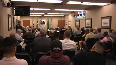Yakima City Council meeting