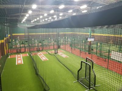 The inside of 'baseball paradise.'