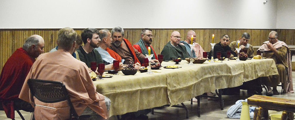 Reenactment Of The Last Supper News Nelighnewscom