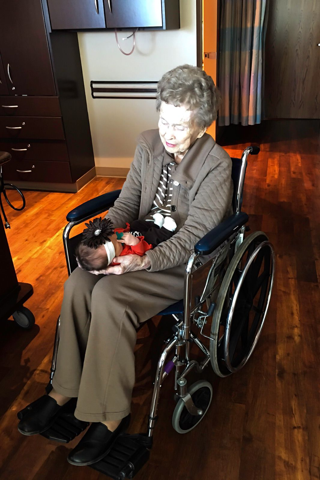 Clearwater Woman Celebrates 100th Great-grandchild