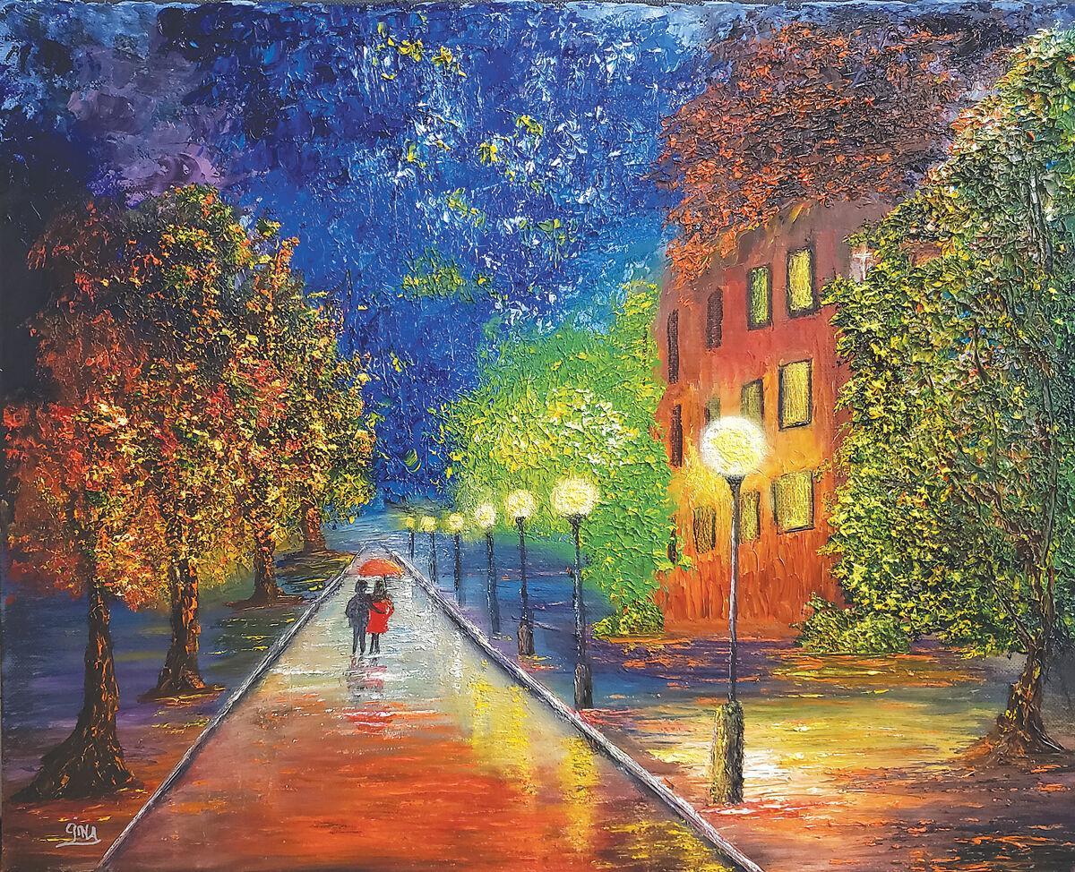Gina-Nielsen-paintings-streetlights