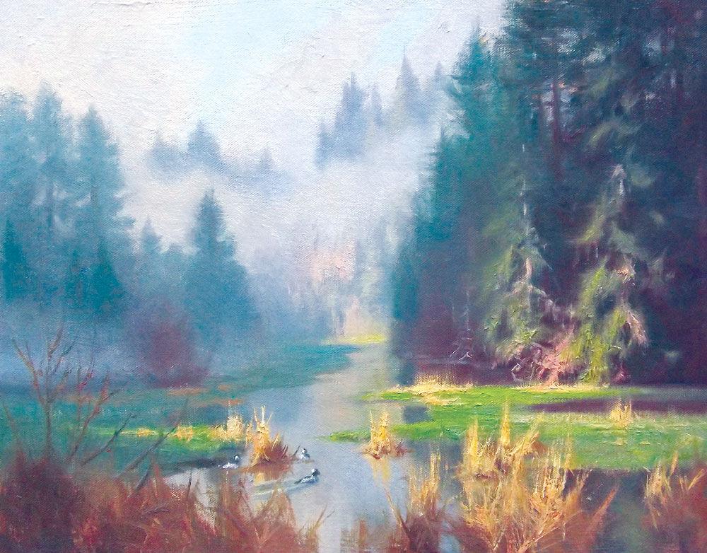Morning Over the Flood Marsh
